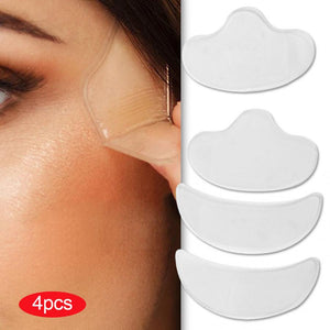 Anti Wrinkle Forehead Cheek Chin Silicone Skin Patches