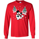 Snowman With Banjo Long Sleeve/Sweatshirt