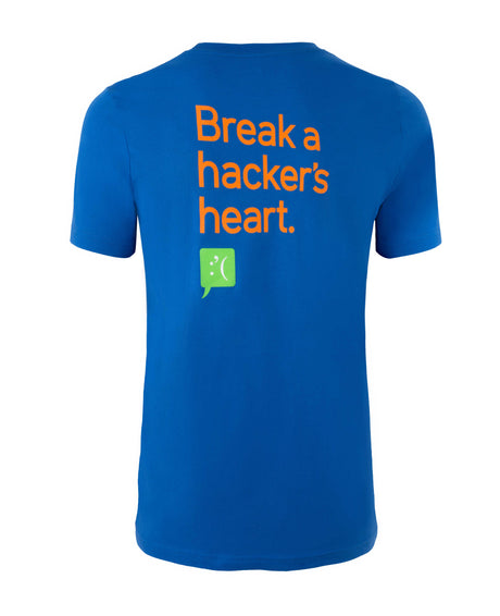"""Break a Hacker's Heart"" T-Shirt"