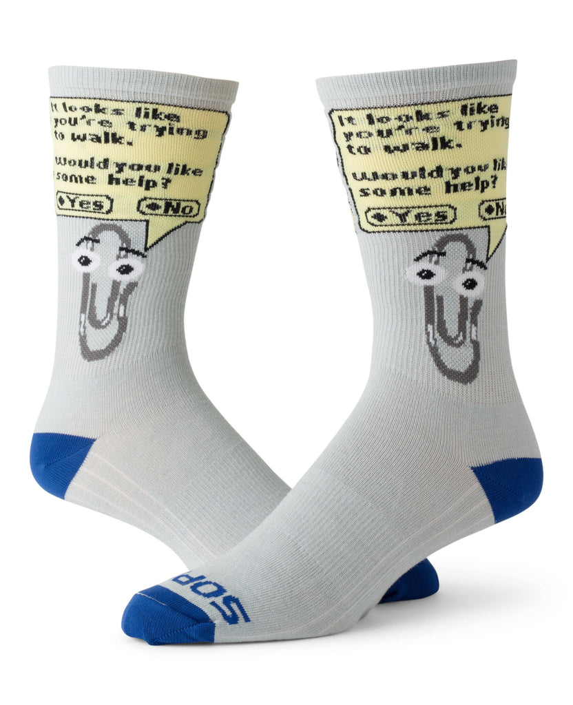"""Clippy"" Socks"