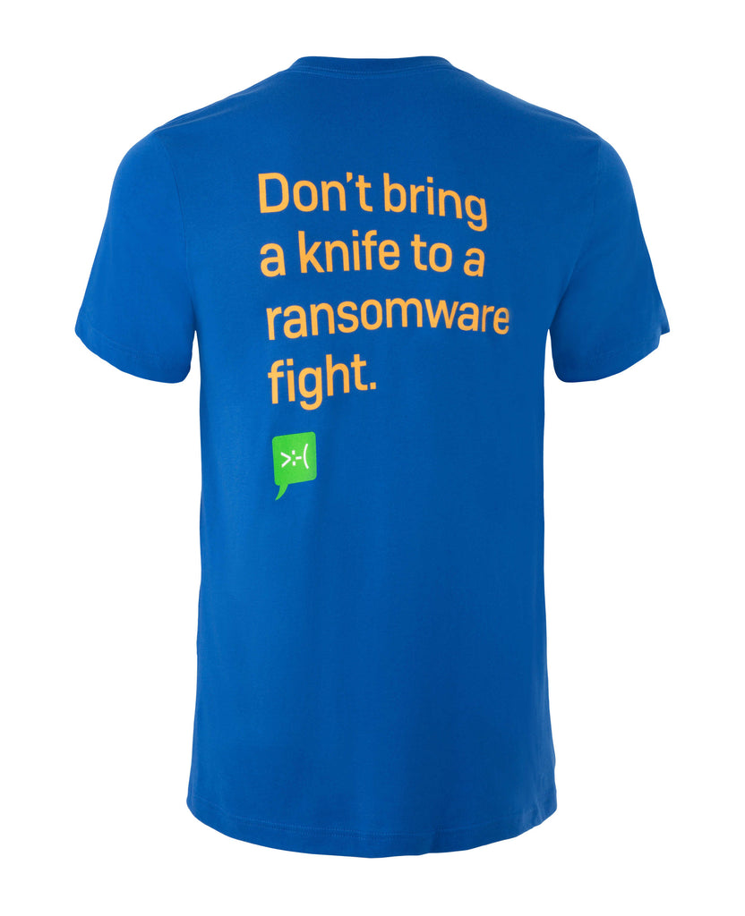 """Ransomware Fight"" T-Shirt"