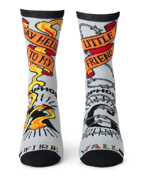 """Firewall"" Socks"