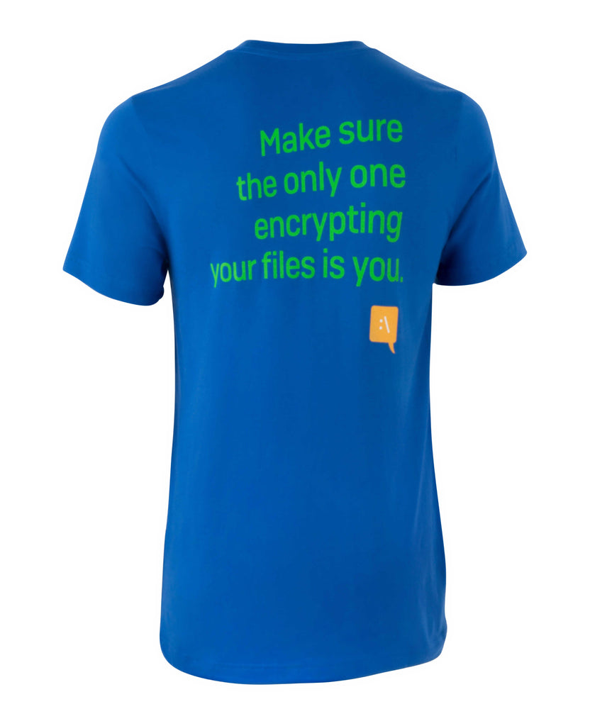 """Encrypting Files"" T-Shirt"