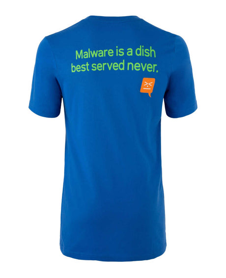 """Malware is a Dish Best Served Never"" T-Shirt"