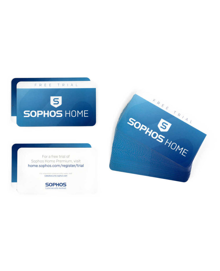 Sophos Home Free Trial Pass-Along Card Pack