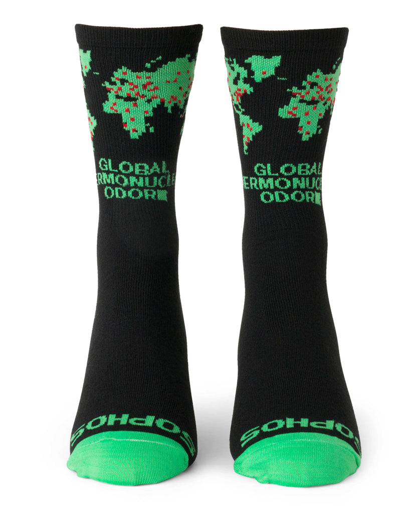 """Thermonuclear Odor"" Socks"