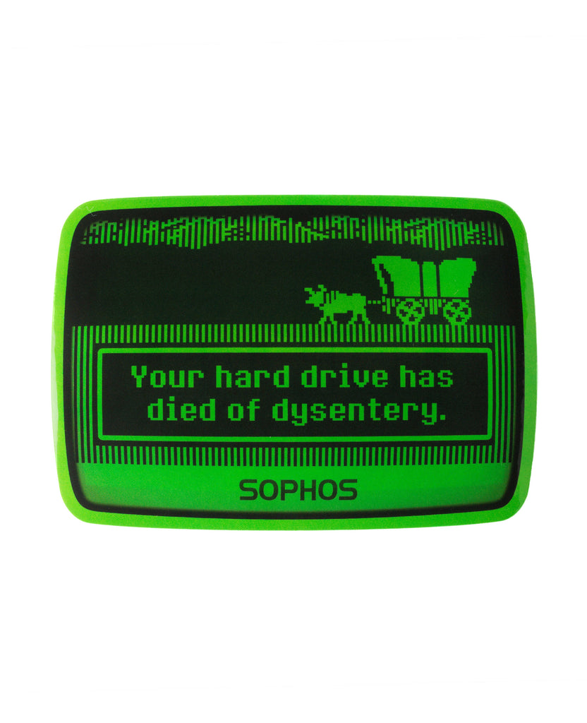"""Oregon Trail"" Laptop Sticker"