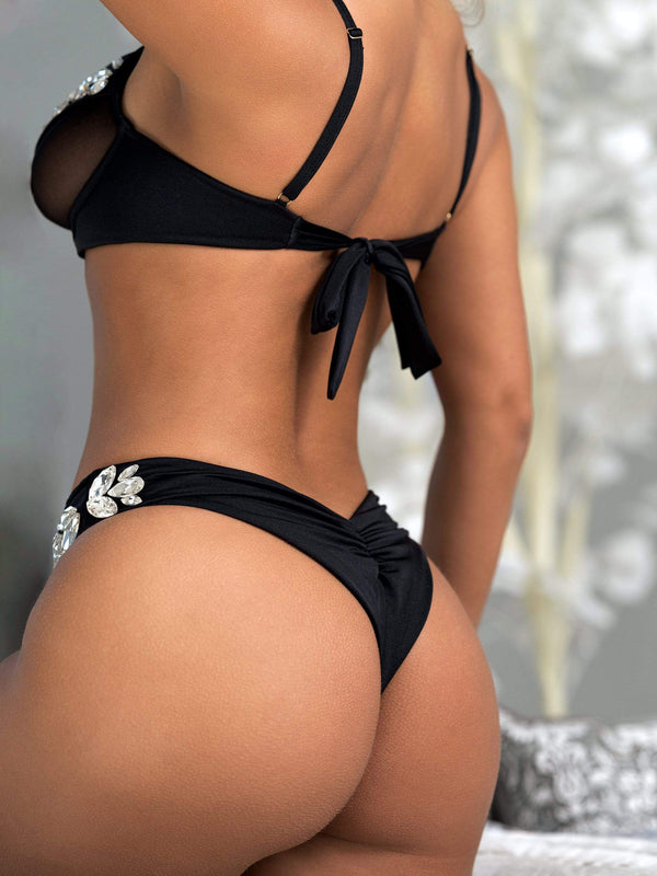 Bikini Crush Swimwear Lingerie Sex Kitten // Bottom (Black Label Pre-Order 2021)