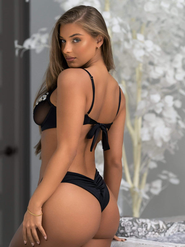 Bikini Crush Swimwear Lingerie Sex Kitten // Top (Black Label Pre-Order 2021)