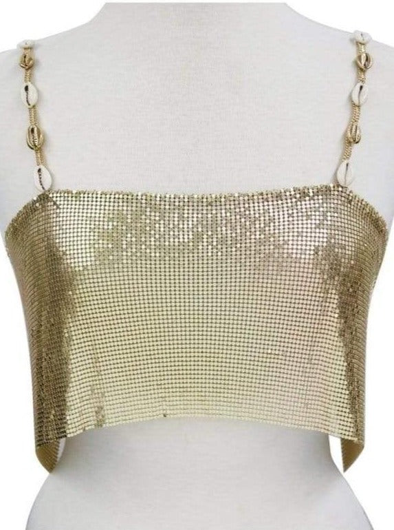 ettika body chain Sanibel // Tank (Black Label)