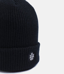 10Deep - Dot Logo Knit Beanie, Black - The Giant Peach - 3