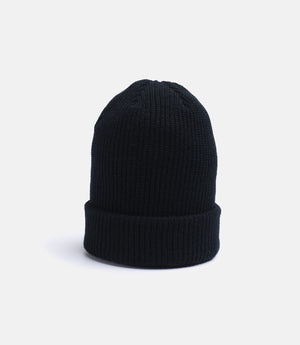 10Deep - Dot Logo Knit Beanie, Black - The Giant Peach