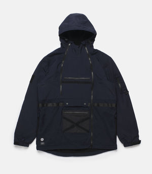10Deep -  Deep Tech Men's Parka, Navy - The Giant Peach