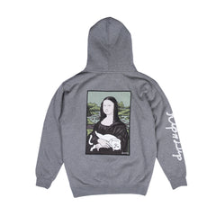 RIPNDIP - Nermal Lisa Men's Hoodie, Athletic Heather - The Giant Peach