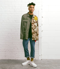10Deep - Vintage Split Military Men's Shirt, Multi