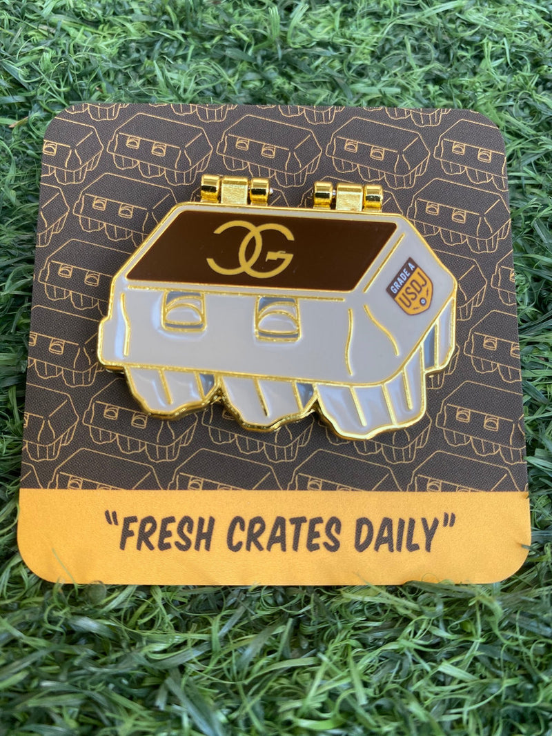 DJ Chicken George - Fresh Crates Daily Pin