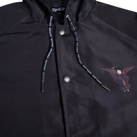 RIPNDIP - Hell Pit Hooded Men's Coaches Jacket, Black