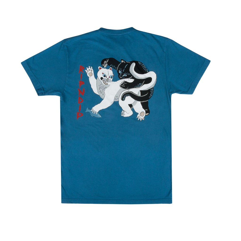 RIPNDIP - Brawl Men's Tee, Harbor Blue