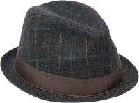 Goorin - Tad Bewell Fedora, Navy - The Giant Peach