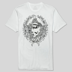 Upper Playground - Jeremy Fish Skull Sailor Men's Premium Tee