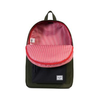 Herschel Supply Co. - Classic Backpack, Forest Night/Black - The Giant Peach