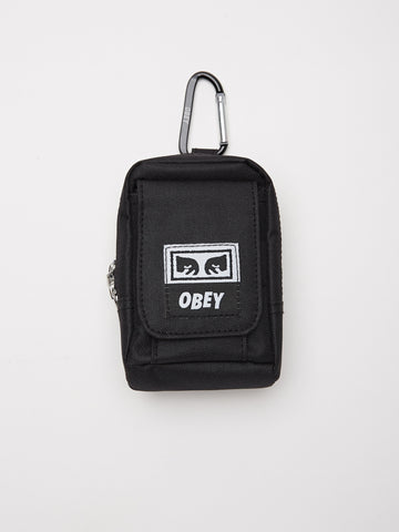OBEY - Drop Out Utility Small Bag, Black