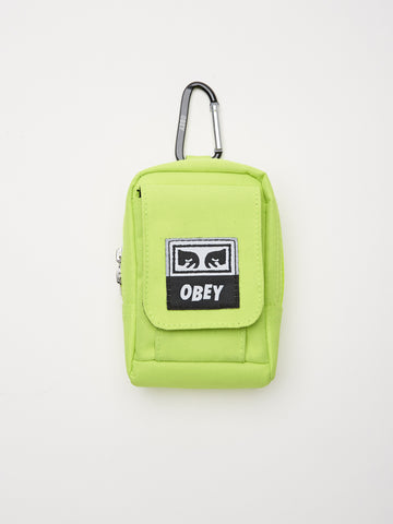 OBEY - Drop Out Utility Small Bag, Safety Green