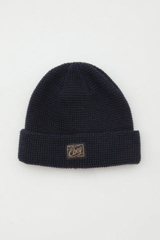 OBEY - Roscoe Beanie, Black - The Giant Peach