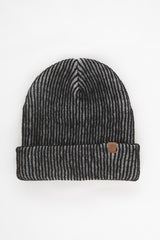 OBEY - Coast Beanie, Black/Grey - The Giant Peach - 1