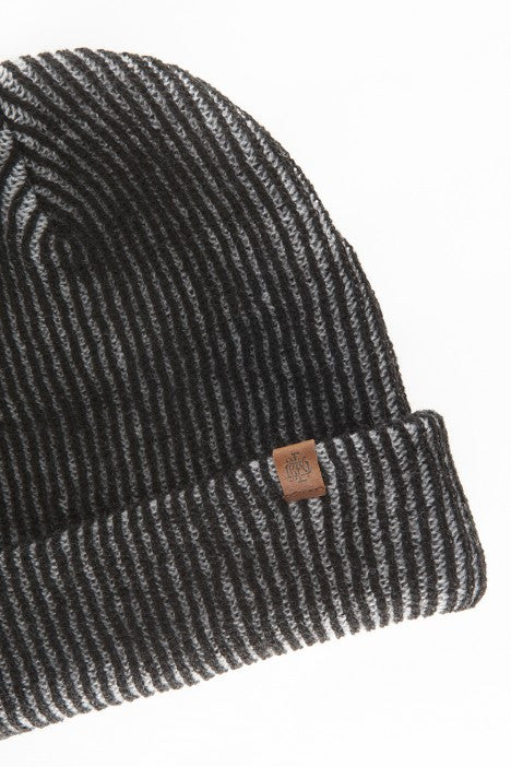 OBEY - Coast Beanie, Black/Grey - The Giant Peach