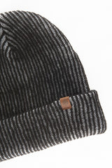OBEY - Coast Beanie, Black/Grey - The Giant Peach - 2