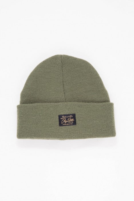 OBEY - Watcher Beanie, Army - The Giant Peach - 1