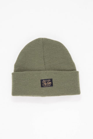 OBEY - Watcher Beanie, Army - The Giant Peach