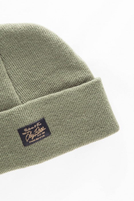 OBEY - Watcher Beanie, Army - The Giant Peach - 2