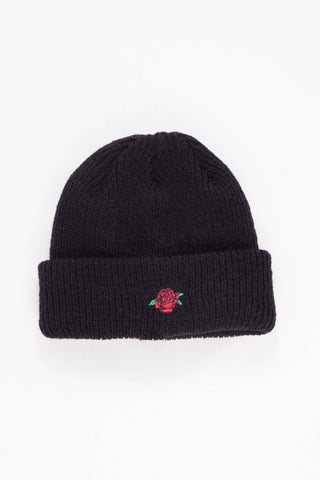 OBEY - Rose Beanie, Black - The Giant Peach