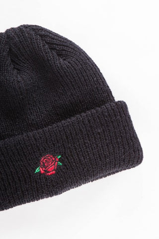OBEY - Rose Beanie, Black