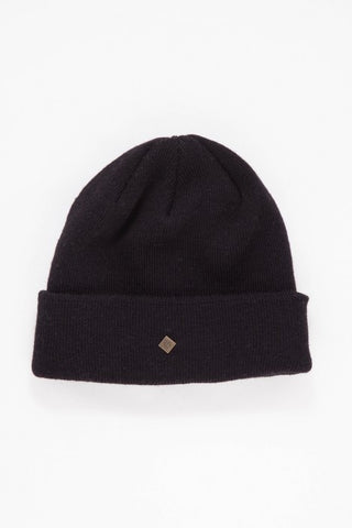 OBEY - Essentials Beanie, Black - The Giant Peach