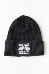 OBEY - Obey x Jamie Reid Beanie, Black - The Giant Peach - 1