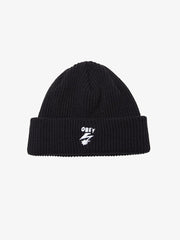 OBEY - Bad Brains Bolt Beanie, Black - The Giant Peach