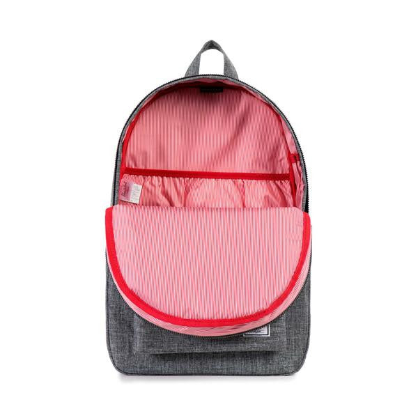 Herschel Supply Co. - Settlement Backpack, Raven Crosshatch - The Giant Peach - 2