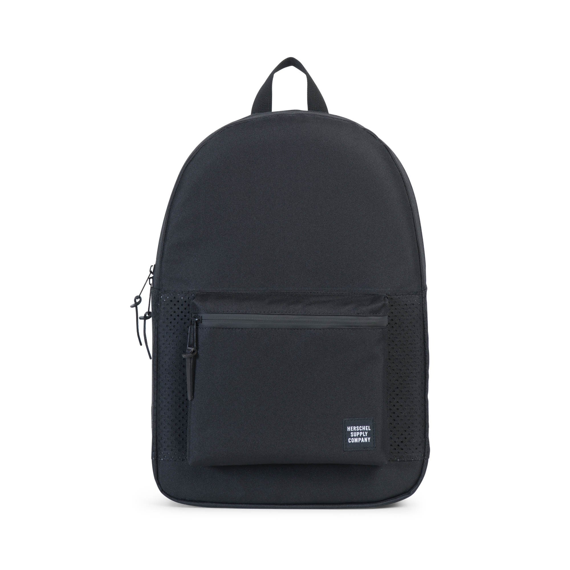 Herschel Supply Co. - Settlement Backpack, Perforated Black/Black - The Giant Peach - 1