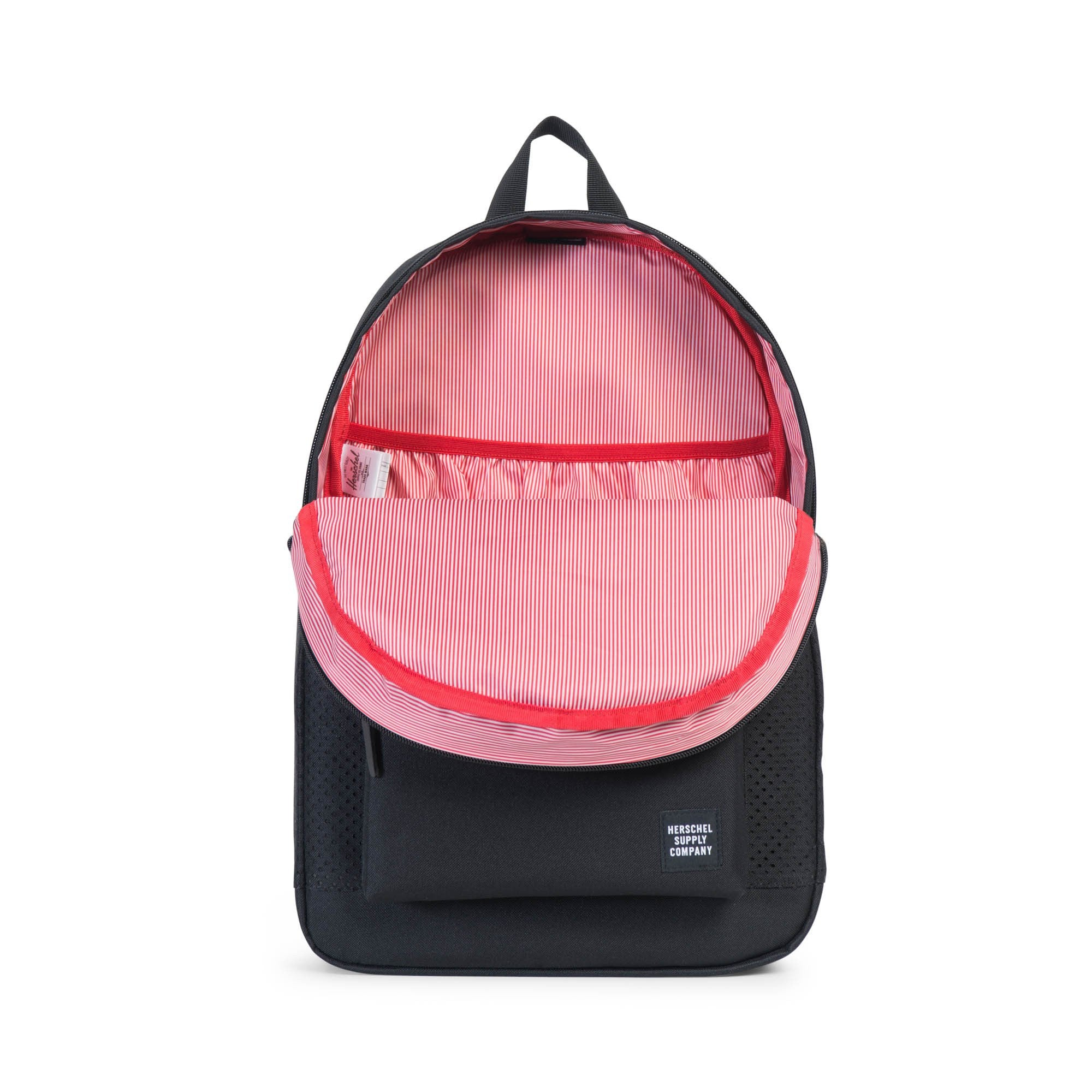 Herschel Supply Co. - Settlement Backpack, Perforated Black/Black - The Giant Peach - 2