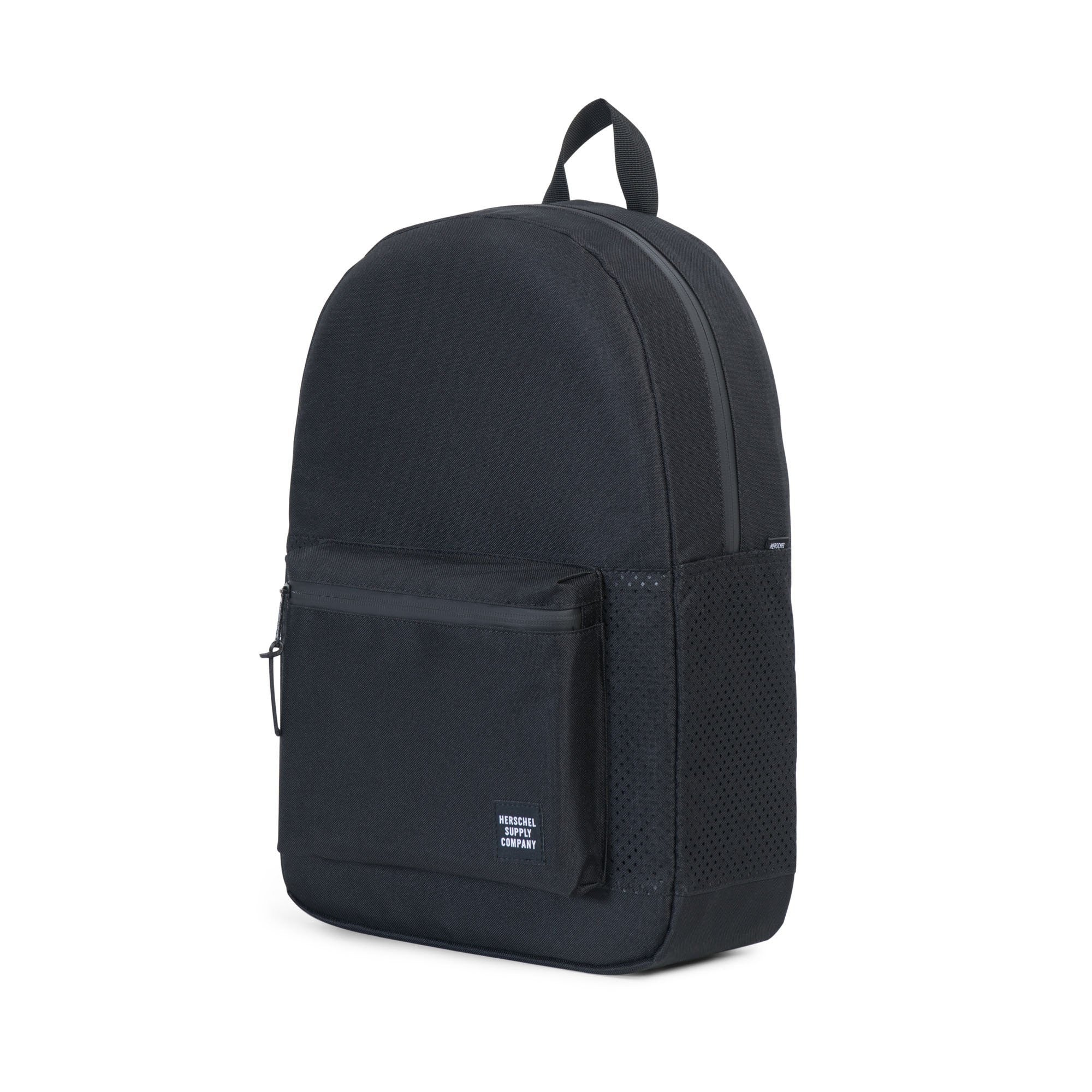 Herschel Supply Co. - Settlement Backpack, Perforated Black/Black - The Giant Peach - 3