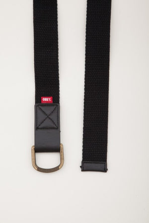 OBEY - Dissent Men's Belt, Black - The Giant Peach