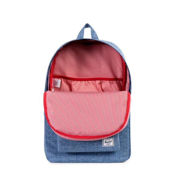 Herschel Supply Co. - Heritage Backpack, Limoges Crosshatch - The Giant Peach - 2