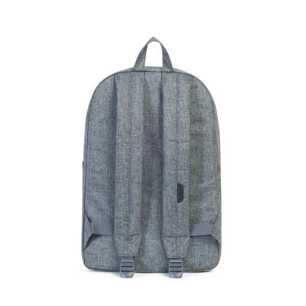 Herschel Supply Co. - Heritage Backpack, Raven Crosshatch/Black - The Giant Peach - 4