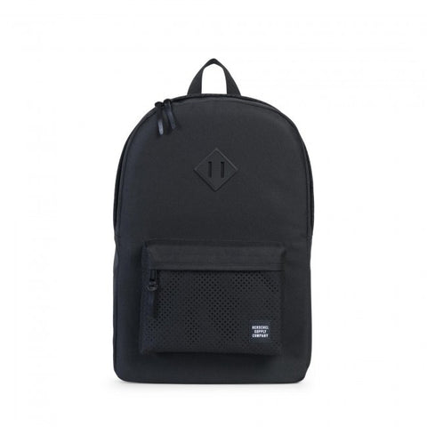Herschel Supply Co. - Heritage Backpack, Perforated Black/Black