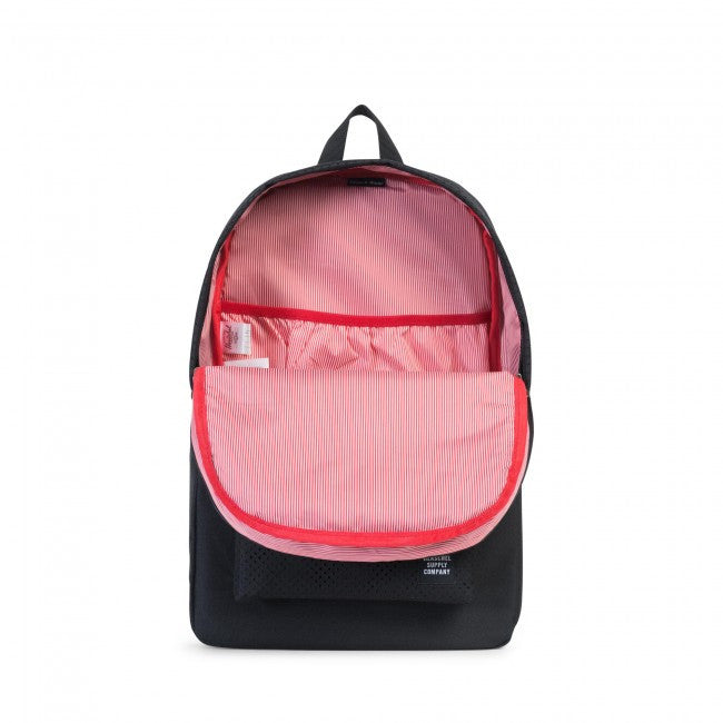 Herschel Supply Co. - Heritage Backpack, Perforated Black/Black - The Giant Peach - 2