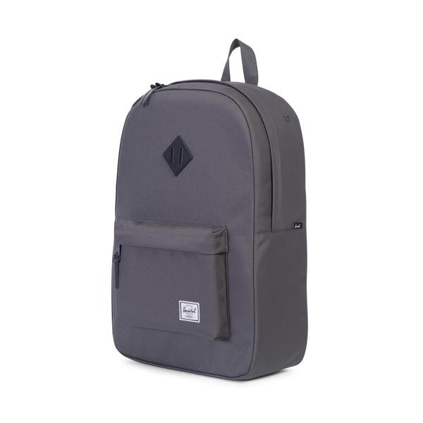Herschel Supply Co. - Heritage Backpack, Charcoal/Black Native Rubber - The Giant Peach