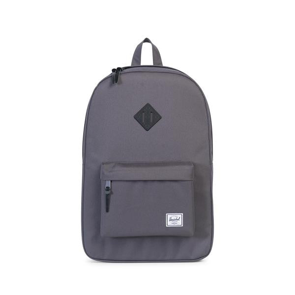 Herschel Supply Co. - Heritage Backpack, Charcoal/Black Native Rubber